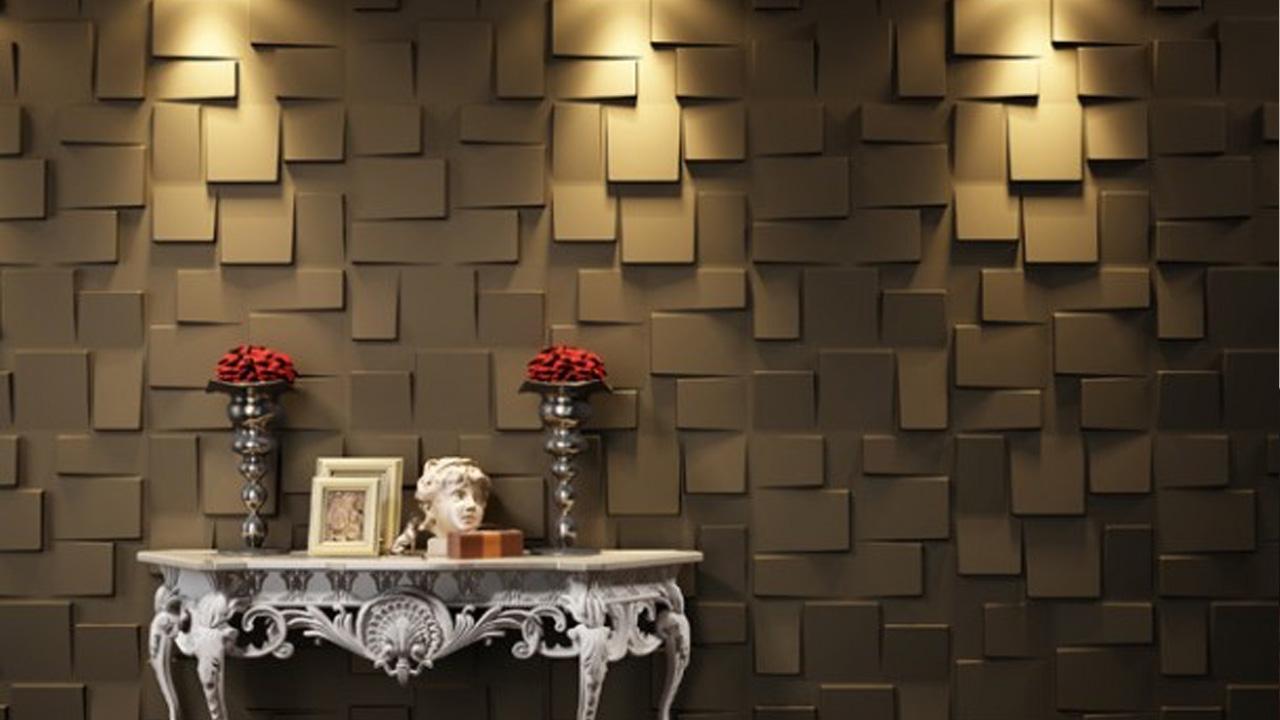 Декоративная объемная стены дизайн